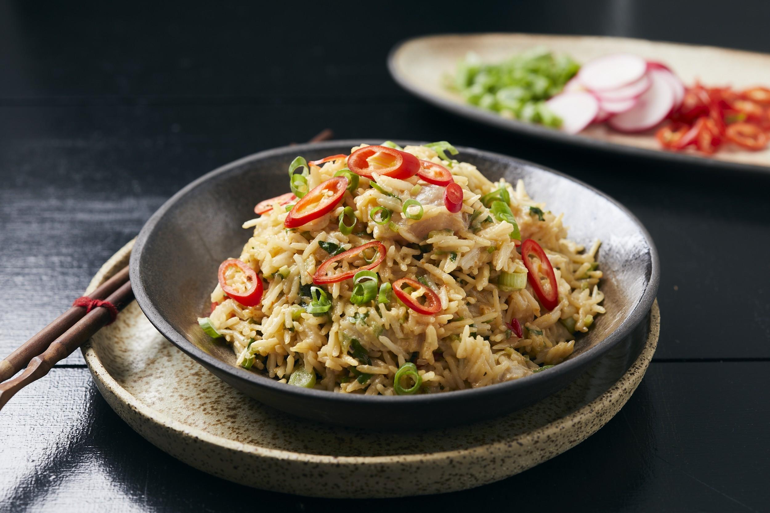 אורז עם דג נא